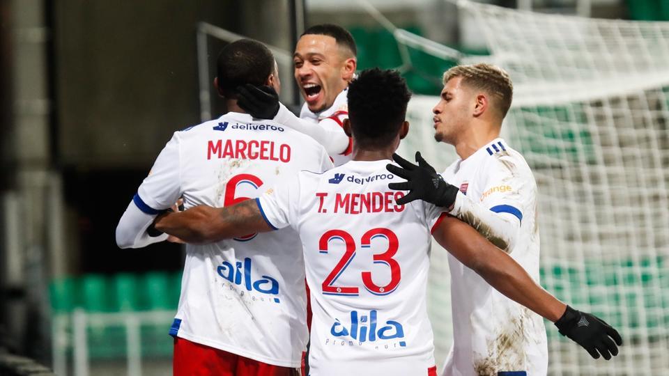 Ligue 1 : Lyon se régale à Saint-Etienne (0-5)