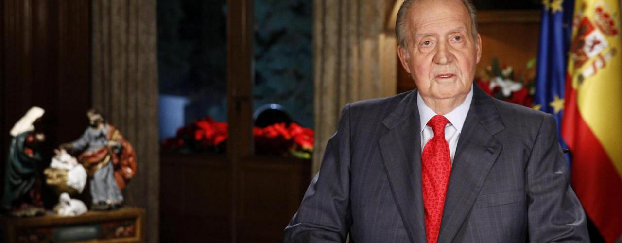 Le roi d'Espagne Juan Carlos Ier