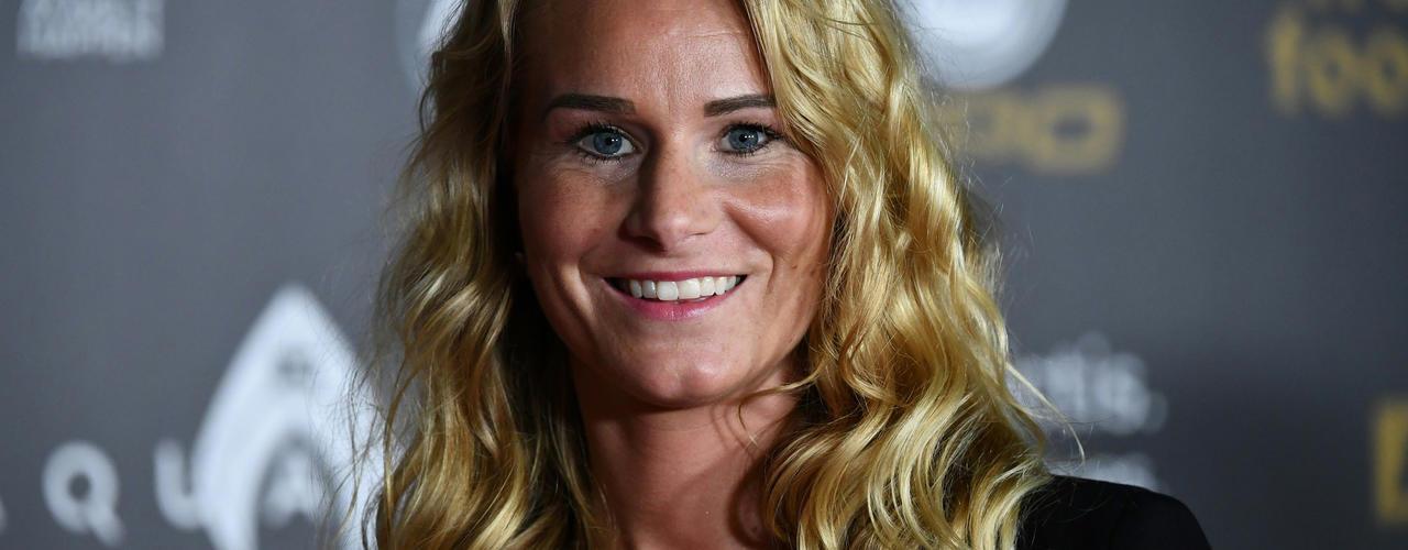 Amandine Henry, capitaine de l'équipe de France de foot féminin.
