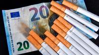 La valeur estimée de ces 1 384 cartouches est de 117 000 euros.