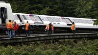 Le train avait déraillé le 12 juin 2018, au petit matin, faisant 7 blessés.