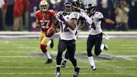 Jacoby Jones a brillé lors du Super Bowl XLVII dimanche.
