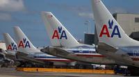 Des avions American Airlines à l'aéroport international de Miami le 7 février 2013 [Joe Raedle / Getty Images/AFP/Archives]