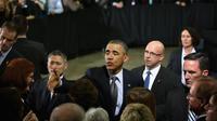 Le président américain Barack Obama, le 15 mars 2013 à Argonne, dans l'Illinois [Scott Olson / Getty Images/AFP]