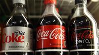 Des bouteilles de Coca-Cola