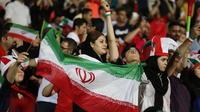 Des femmes avaient pu accéder au stade lors d'une retransmission d'un match de Coupe du monde en 2018