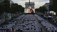 L'an passé, le film «Les visiteurs» avait raflé le vote du public et avait été diffusé le 1er juillet devant plus d'un millier de personnes.