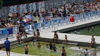 La baignade de la Villette (19e) restera ouverte du 3 juillet au 1er septembre.
