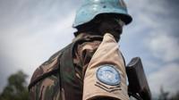 Un soldat de la mission de l'ONU en Centrafrique.