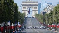 La cérémonie de commémoration du 14 juillet durera près de 2 heures.