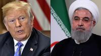 Trump et Rohani sont les deux hommes forts de la crise actuelle