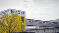 Le centre de distribution Amazon à Saran dans le Loiret.