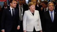 Parmi les chefs d'État des grandes puissances internationales, seul Emmanuel Macron participera au forum de Paris.