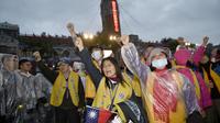 Si la mobilisation taïwanaise est née trois ans avant la campagne française, les manifestants se sont inspirés de la stratégie plus «frontale» des «gilets jaunes».