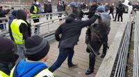 Christophe Dettinger, ex-boxeur, s'était battu avec un policier le 5 janvier 2019 lors d'une manifestation des gilets jaunes à Paris.
