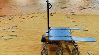 Le rover qui doit transporter les bandes sons sur Mars.