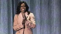 Michelle Obama lors d'une conférence à Copenhague