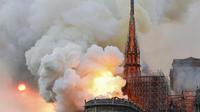 Les réseaux sociaux sous le choc après le terrible incendie qui touche Notre-Dame de Paris depuis 18h50.