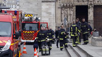 Avec ses hommes, Jean-Marie Gontier avait mené les opérations lors de l'incendie de Notre-Dame de Paris.