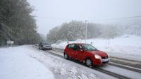 Ce vendredi 15 novembre, plus qu'un seul département, la Saône-et-Loire, est en vigilance orange neige-verglas (Image d'illustration).
