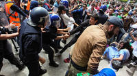 Des manifestations d'étudiants étaient organisées dans toute l'Algérie