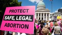 Une manifestation des pro-avortement dans le Missouri