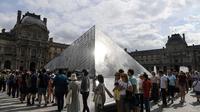 Le musée du Louvre a battu en 2018 son propre record de fréquentation, qui datait de 2012 (9,7 millions).