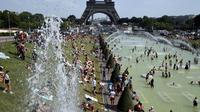 34 degrés attendus à Paris, ce mardi 27 août.