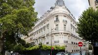 Le bâtiment du XVIe arrondissement de Paris dans lequel Jeffrey Epstein possédait un appartement