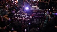 La police de Hong Kong dans le viseur des manifestants