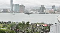 Un rassemblement en prévision de la grève à Hong Kong