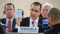 Jorge Arreaza, le ministre des Affaires étrangères du Venezuela est à l'origine de la critique