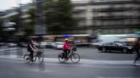 En moyenne, la pratique du vélo a augmenté de 54 % sur les axes où se trouvent des compteurs.