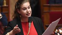 Mathilde Panot est la vice-présidente du groupe LFI à l'Assemblée nationale.