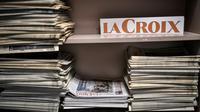 Le journal La Croix n'était pas disponible en kiosque le jeudi 5 décembre.