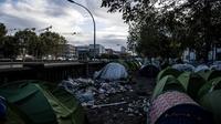 Les Ecologistes alertent sur l'urgence humanitaire que nécessitent ces camps de fortune.