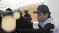 Ovidio Guzman, un des trois fils d'«El Chapo», lors de son arrestation ratée.