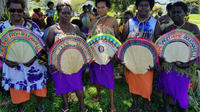 Des habitantes de l'île de Bougainville.