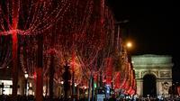 Entre 250.000 et 300.000 personnes sont attendues sur les Champs-Elysées pour la soirée du 31 décembre.