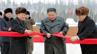 Le ville de Samjiyon a été inaugurée par le leader de la Corée du Nord.