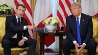 Emmanuel Macron et Donald Trump ont donné une conférence de presse commune à Londres mardi, juste avant le début du sommet de l'OTAN.