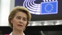 Ursula von der Leyen, la présidente de la Commission européenne, a appelé à la désescalade.