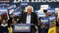 Selon les derniers sondages, Bernie Sanders est des intentions de vote dans l'Iowa et le New Hampshire, les deux premiers Etats à voter pour la primaire démocrate (3 et 11 février).