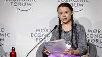 Au forum de Davos il y a un an, Greta Thunberg s'était définitivement imposée comme une voix qui compte dans le débat climatique.