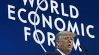 Un concentré d'autosatisfaction pour Donald Trump à Davos.