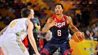 Derrick Rose et les Etats-Unis affrontent mardi la Slovénie en quarts de finale du Mondial.