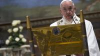 Le Pape François au Vatican, le 10 janvier 2016.