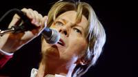 David Bowie à Paris en 2002.