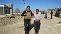 L'armée irakienne évacue les blessés de la banlieue de Ramadi, récemment libérée de Daesh.