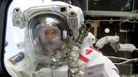 L'astronaute canadien Chris Hadfield, le 22 avril 2001 [ / Nasa/AFP/Archives]